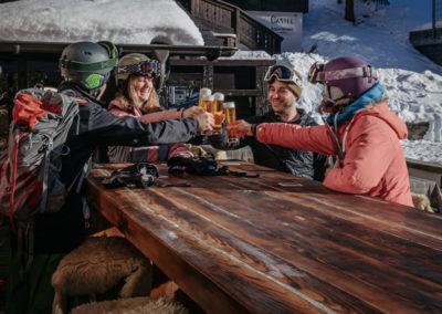 Hotel-Restaurant Roby-Terasse-Apres-Ski Saas-Fee